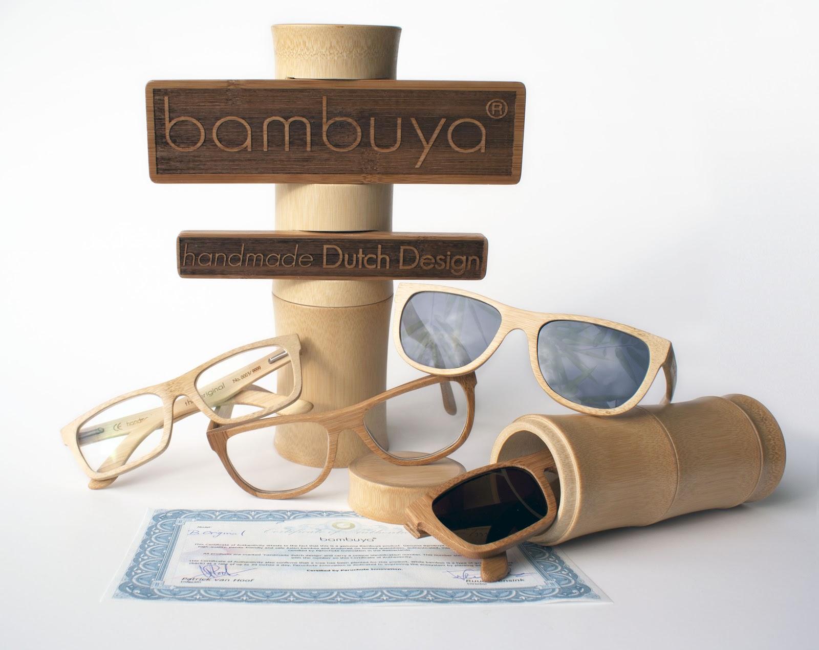 Gafas Bambuya fabricadas a mano