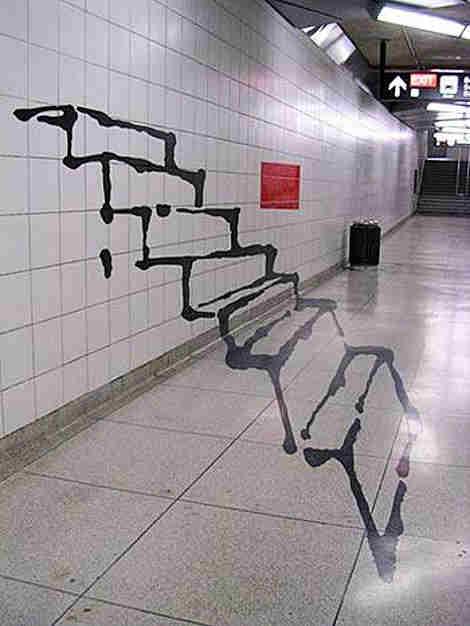 Escalera fantasma
