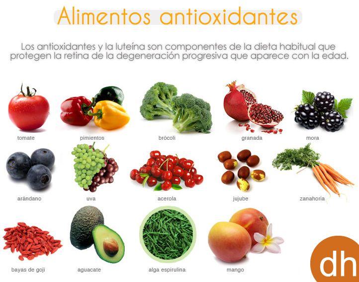 Alimentos para una buena salud visual