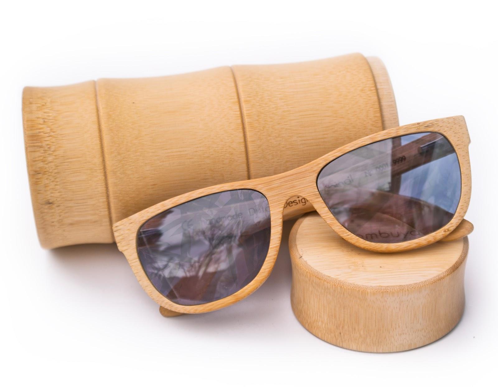 Gafas de bambú Bambuya