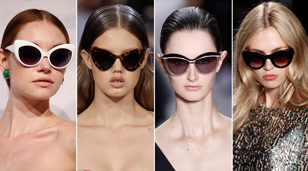 Gafas de sol estilo cat-eyes