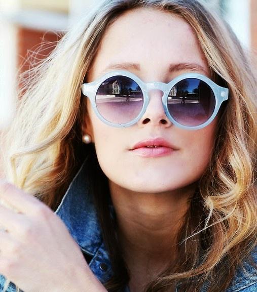 Gafas de sol redondas retro
