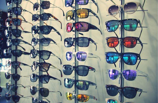 Gafas de sol de espejo