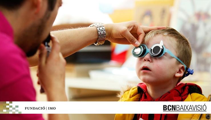 BCNBaixaVisió colabora con la Fundación IMO