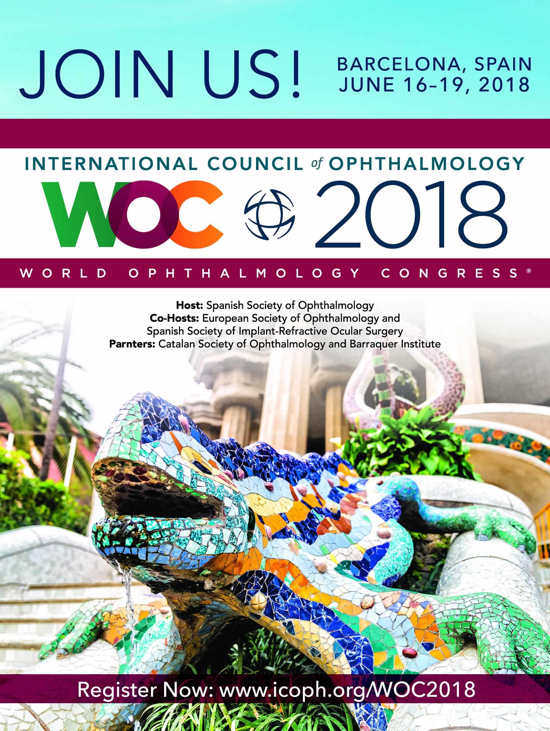 Qué es el World Ophthalmology Congress 2018